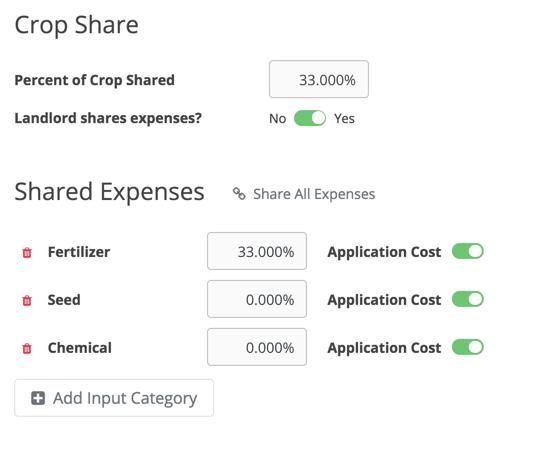 Crop Share Builder